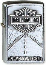 Zippo Feuerzeug Original Classic Harley Davidson