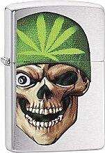 Zippo Feuerzeug Skull Beanie Design