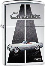 Zippo Feuerzeuge, Corvette Einheitsgröße grau