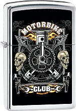 Zippo Feuerzeuge Vintage Motorbike Poster,