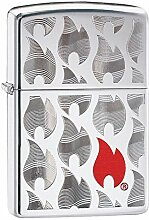 ZIPPO FLAMES DESIGN - 29678 - Choice Collection
