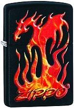 Zippo Flaming Dragon Design - 29735 - Choice