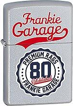 Zippo Frankie Garage Feuerzeug, Messing