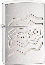 Zippo Geometrical Feuerzeug, Messing