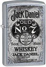 Zippo Jack Daniels Benzinfeuerzeug, Messing,