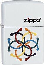 Zippo Piercing Benzinfeuerzeug, Messing,