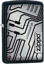 Zippo SCFI Wall Benzinfeuerzeug, Messing,