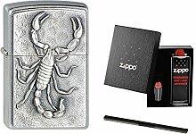 Zippo Scorpion / Skorpion 1330006 im Zippo