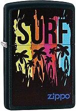 Zippo SURF Benzinfeuerzeug, Messing,