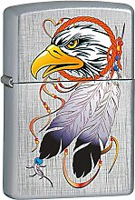 Zippo Tattoo Eagle Feuerzeug, Messing