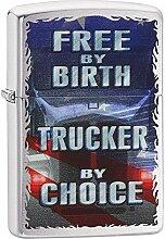 Zippo Unisex Free by Birth Benzinfeuerzeug