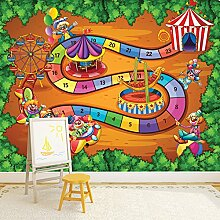 Zirkus Wandbild Lustiges Spiel Foto-Tapete