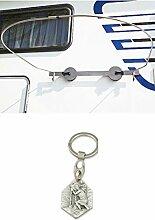 Zisa-Kombi Sichtschutz/Duschvorhang mit