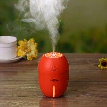 Zitrone-Mini-USB-mute kreative Wohnheim Büro Schlafzimmer Haus Luftbefeuchter Luftbefeuchter,Orange-ro