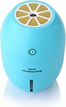 Zitrone Nachtlicht Luftbefeuchter Hause Schlafzimmer USB Luftbefeuchter 8 * 8 * 11,2 CM , blue