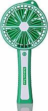 Zitrone-Ventilator mit beweglicher Energie-kleiner Ventilator USB-aufladender Handventilator 20.8 * 9.5 * 3.9cm , green