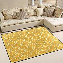 Zitronen-Teppich 4 'x 6', pädagogische
