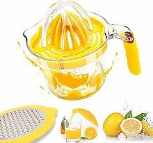 Zitruspresse, Zitronen- und Orangentsafter,