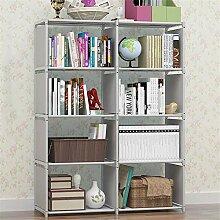 ZIXERN Bücherregale Einfaches Bücherregal