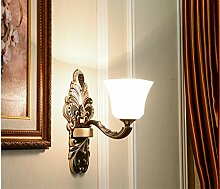 ZIXUANJIAXL Amerikanische Wandlampe, europäische