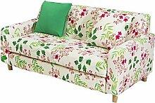 ZJ Bunte Blumen all-inclusive multifunktionale Sofa Sofa Folie Stretch-Stoff mit Elastizität eine Volltonfarbe , lovesea