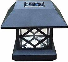 ZJ weiße Sonnenpfostenkappe Licht Deck Zaun montieren outdoor Gartenzaun lamp