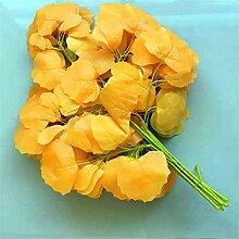 ZJJFZH Künstliche dekorative Blumen Simulation