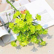 ZJJZH Künstliche dekorative Blumen Künstliche