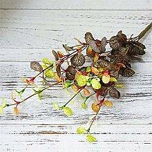 ZJJZH Künstliche dekorative Blumen Pflanze