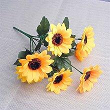ZJJZH Künstliche dekorative Blumen Simulation Sun