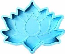 ZJL220 Lotus Flower Coaster Epoxidharz Formbecher