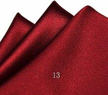 ZJM Einstecktuch (24 * 24cm) Tasche Quadratisches Herrenanzüge Unternehmen Hochzeit Taschentuch 15 Farben Zur Auswahl Taschentücher ( Farbe : #13 )