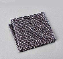 ZJM Einstecktuch (30 * 30 Cm) Tasche Quadratisches Herrenanzüge Unternehmen Hochzeit Taschentuch Taschentücher