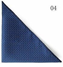 ZJM Einstecktuch Tasche Quadratisches Profi Satintuch 5 Farben Zur Auswahl Taschentücher ( Farbe : #04 )