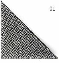 ZJM Einstecktuch Tasche Quadratisches Profi Satintuch 5 Farben Zur Auswahl Taschentücher ( Farbe : #01 )