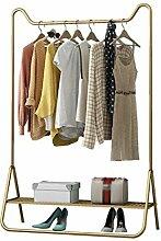 ZJUN Goldene Kleidung Kleiderstange Kleiderbügel
