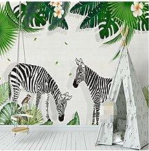 Zjxyz 3D Fototapete Für Kinderzimmer Handgemalte