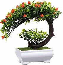 ZJY Bäume Künstliche Pflanzen Bonsai Kleine