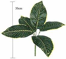 ZJY Bäume Tropische Blätter Künstliche AST Real