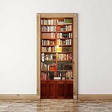 Zkamang Bücherregal Bücherregal Türen von