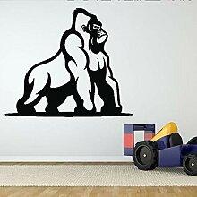 zlhcich Wilde Gorilla Ape AFFE Wandaufkleber Für