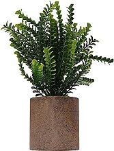 ZLJ Töpfe Blume Künstliche Topfpflanze Desktop