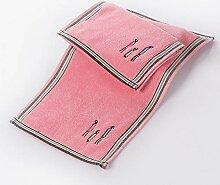 ZLJCC Kind Handtuch Baumwolle Bestickt Familie