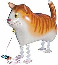 ZLJTT 1 Stück Niedlichen Tiere Ballon Tiger