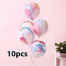 ZLJTT Partydekorationen Set 3D Große Luftballons