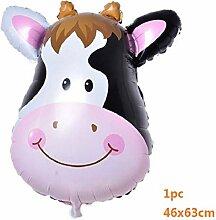 ZLJTT Zoo Party Happy Birthday Folienballon Tiere