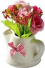 ZLJZZ Schöne Rose Künstliche Blume Rose +