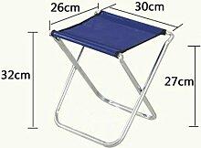 Zll/Falt Hocker/Kleines Bench Mazar/Angeln/Outdoor tragbare Metall Rückenlehne Stuhl Hocker/Ausflüge/improvisierten Hocker 3