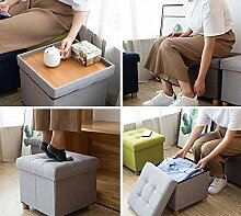 ZLL Home Stuhl Hocker Klappstuhl-Aufbewahrung