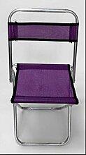 ZLL/ Klapphocker Hocker/Portable Hocker Mazar/im Freien skizzieren Mazar/Zug/verzinktem Stahlrohr Angeln , purple